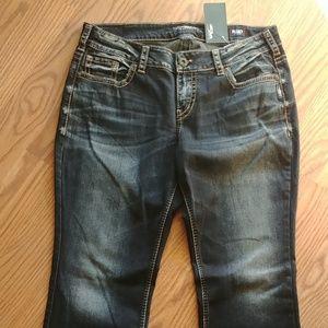 Silver Jeans Women's Elyse Boot Cut (18)W34,L32)(N